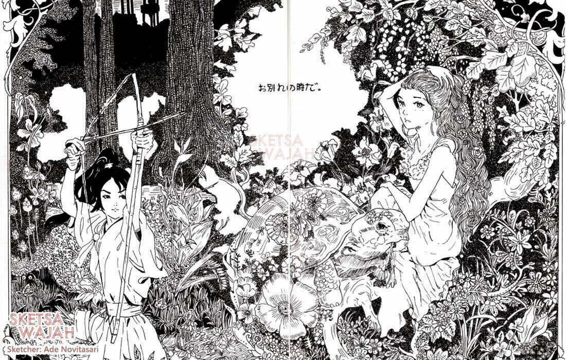 Manga Detail Pen Drawing Ade Novitasari 1