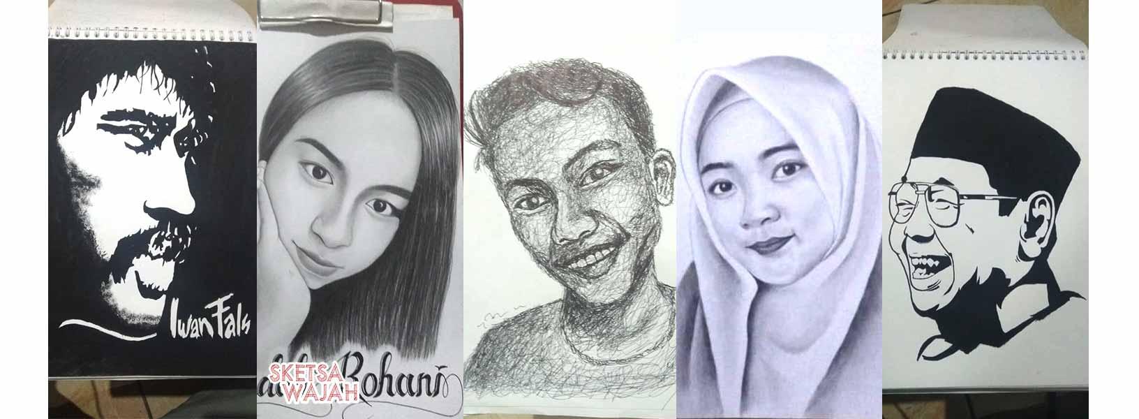 Karya Muhammad Widi sketcher Sketsa Wajah