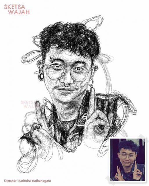 Scribble Art Karindra Yudhanegara 5