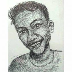 Scribble Art Muhammad Widi 1