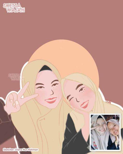 Digital Art Diana Nur Rahman 1