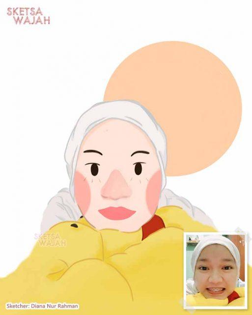 Digital Art Diana Nur Rahman 3