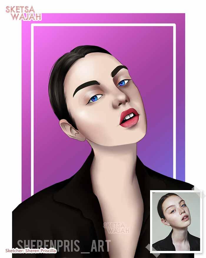 Digital Art Sheren Priscilla 1