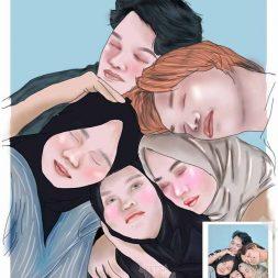 Digital Art Siti Faradhilla 1