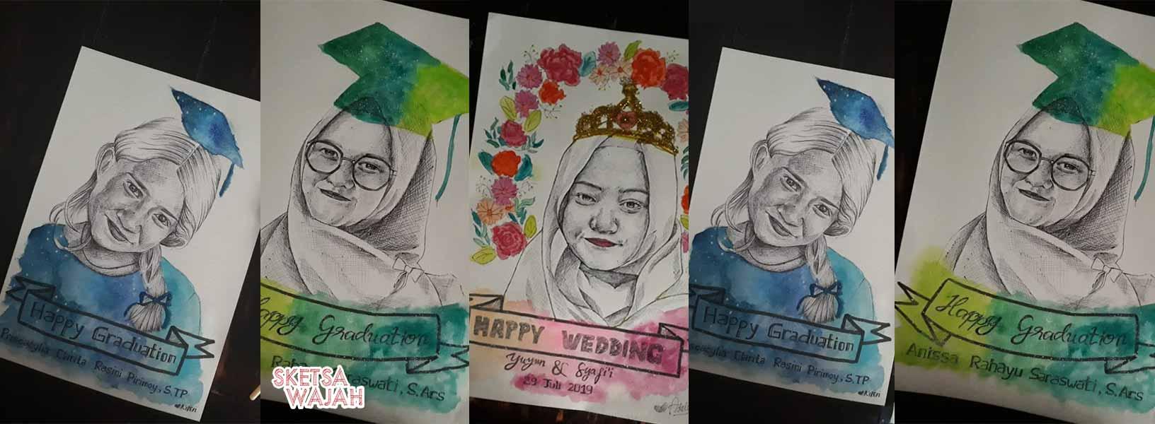 Karya Adelia Novi sketcher Sketsa Wajah