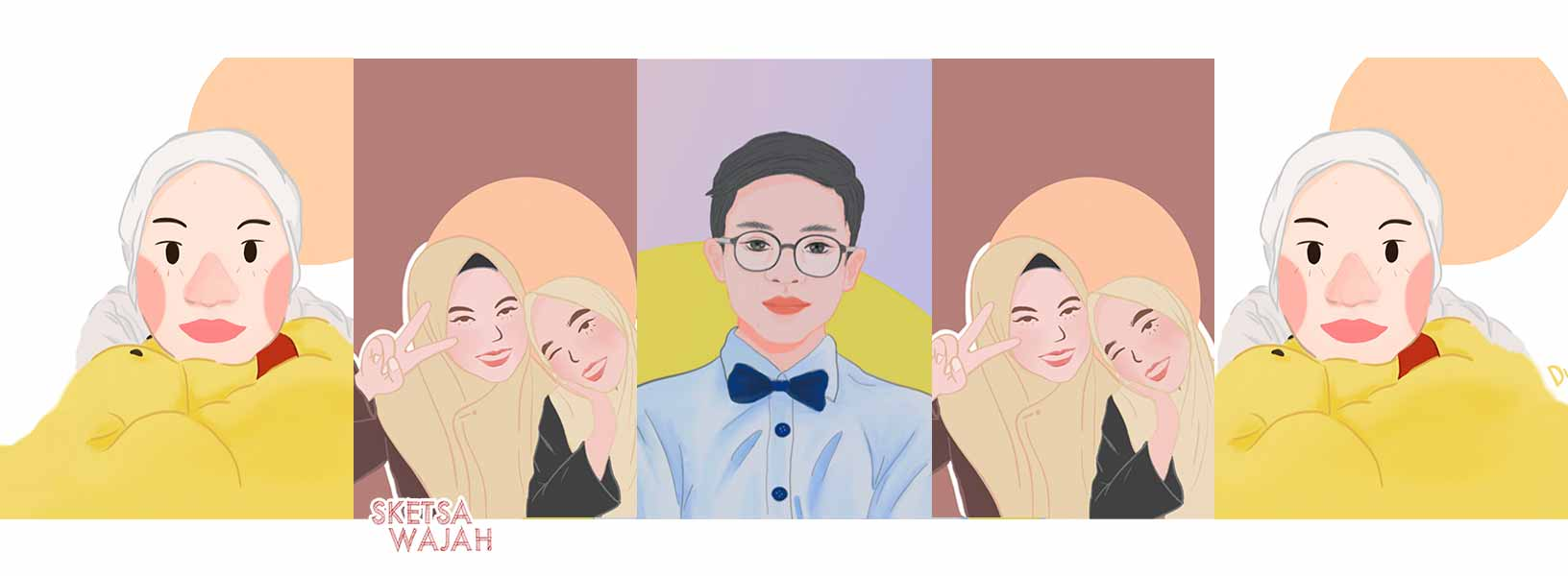 Karya Diana Nur Rahman sketcher Sketsa Wajah