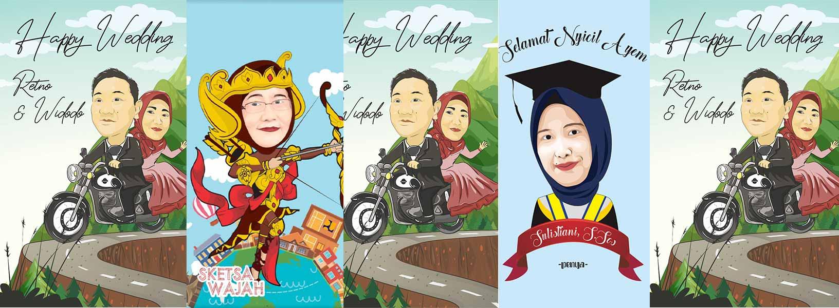 Karya Eka Ariyanti sketcher Sketsa Wajah