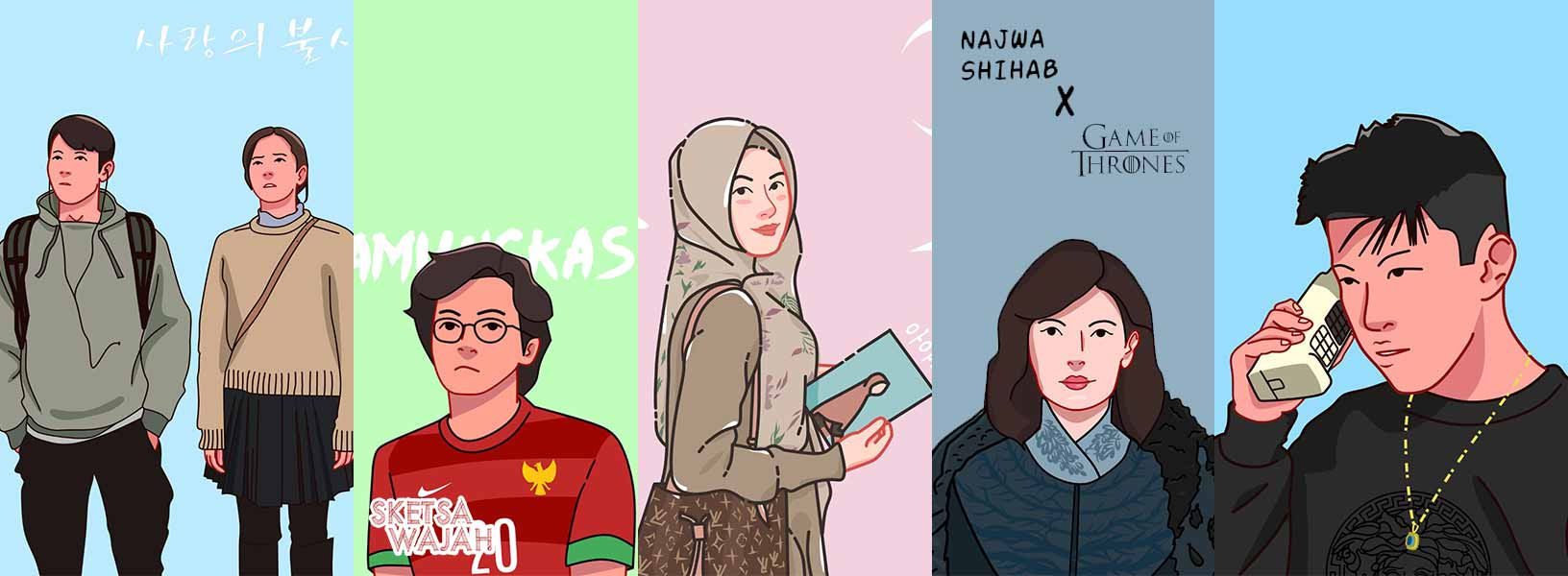 Karya Farchan Noor Himawan sketcher Sketsa Wajah
