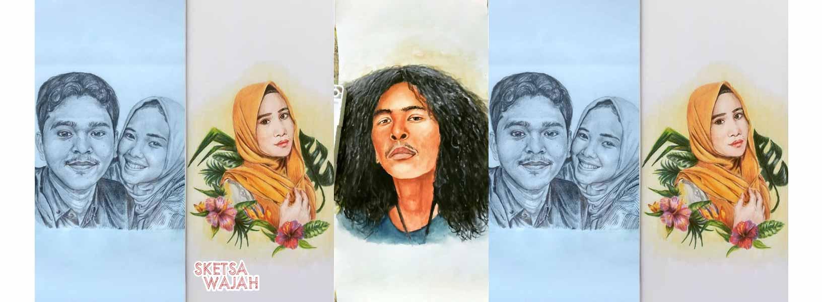 Karya Febridho sketcher Sketsa Wajah
