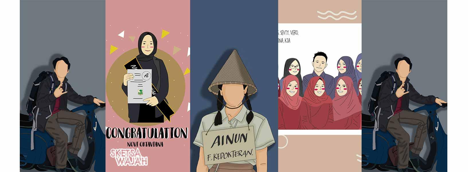 Karya Havina Yase sketcher Sketsa Wajah
