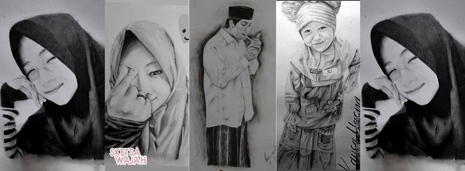 Karya Isna Rofiatul sketcher Sketsa Wajah