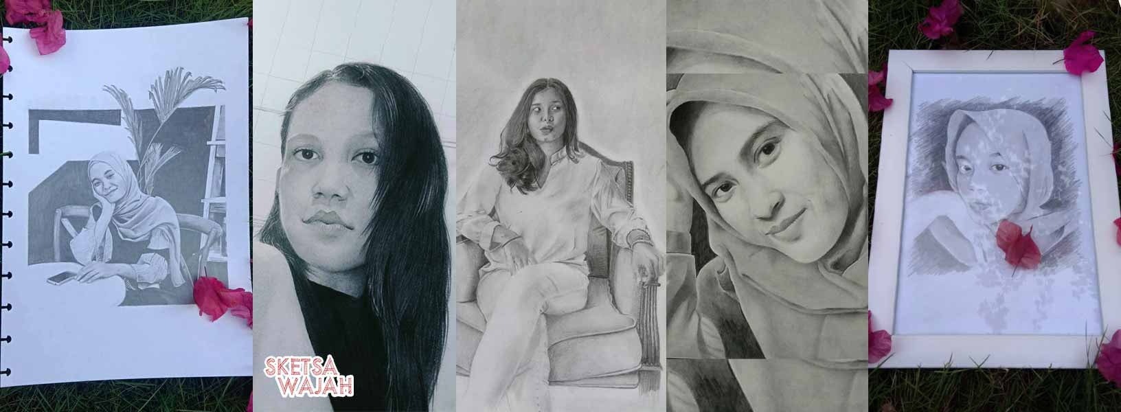 Karya Rizal Efendy sketcher Sketsa Wajah