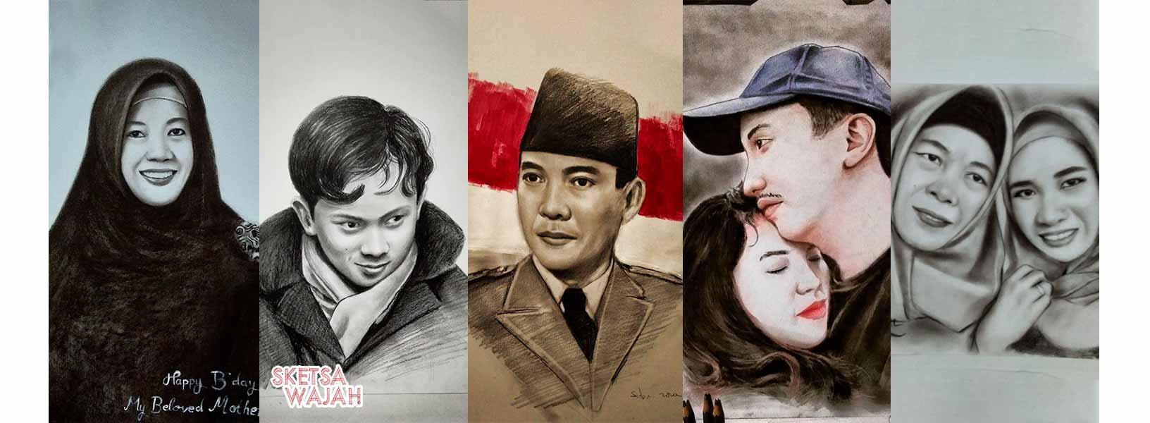 Karya Sidik Ardiansyah sketcher Sketsa Wajah