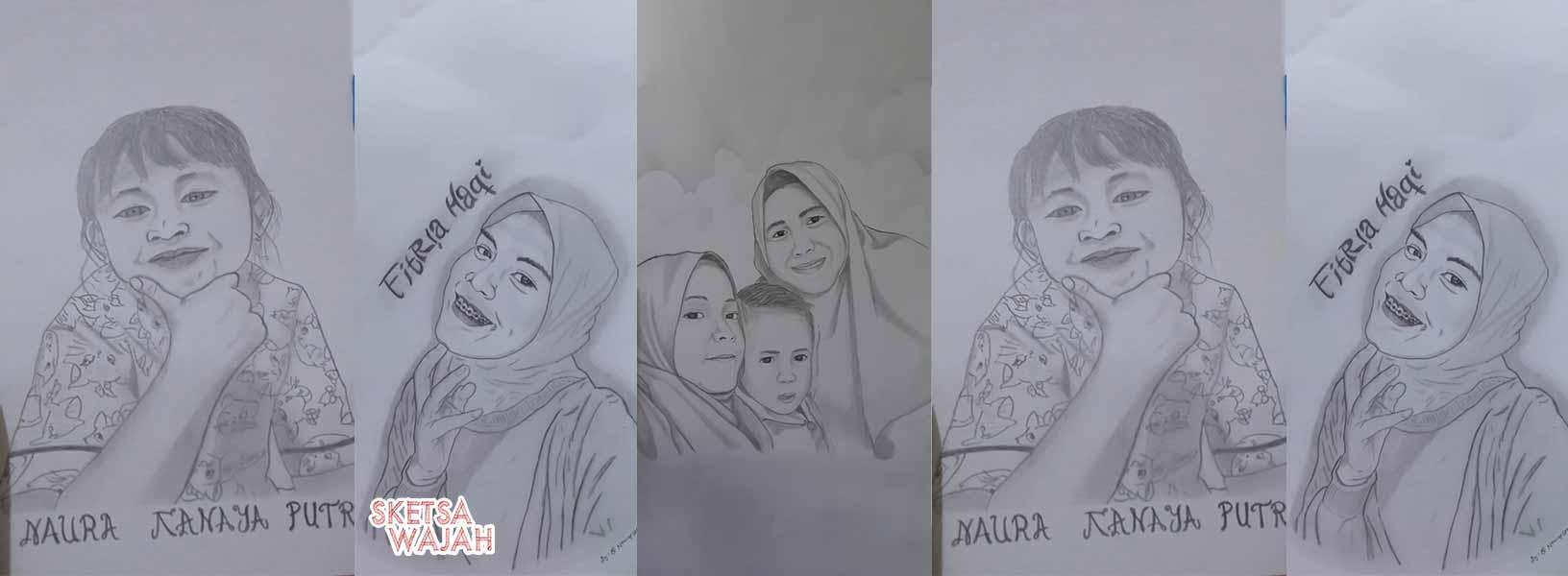 Karya Slamet Noviansyah sketcher Sketsa Wajah