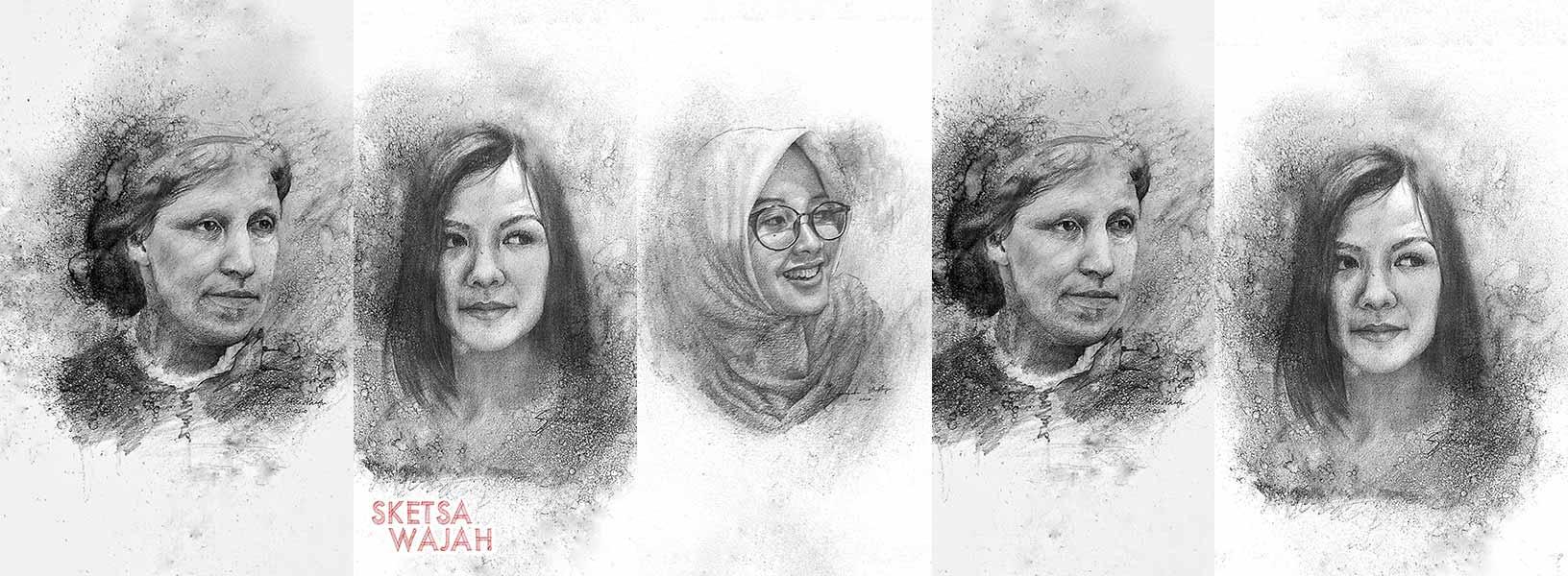 Karya Syarifudin Musthofa sketcher Sketsa Wajah