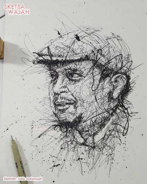 Scribble Art Sidik Ardiansyah 1