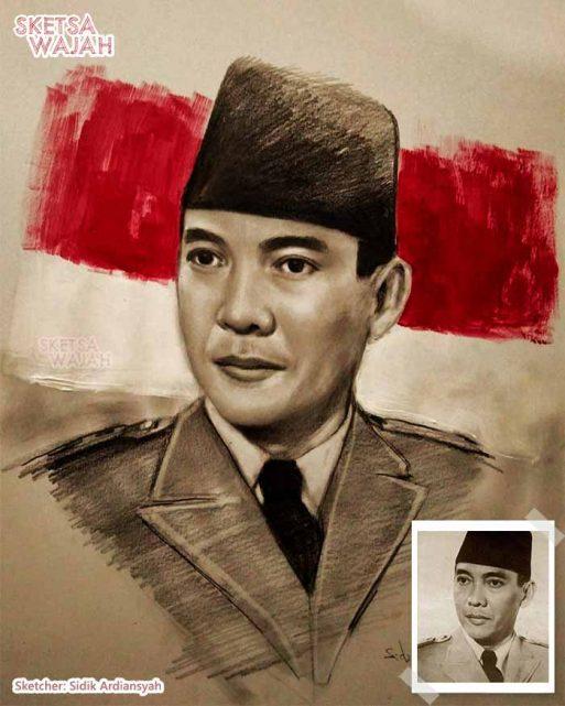 Sketsa Wajah Realis Berwarna Sidik Ardiansyah 1