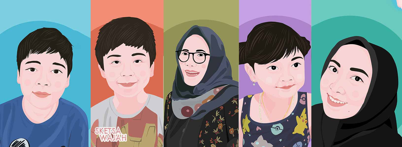 Karya Illgoodx sketcher Sketsa Wajah