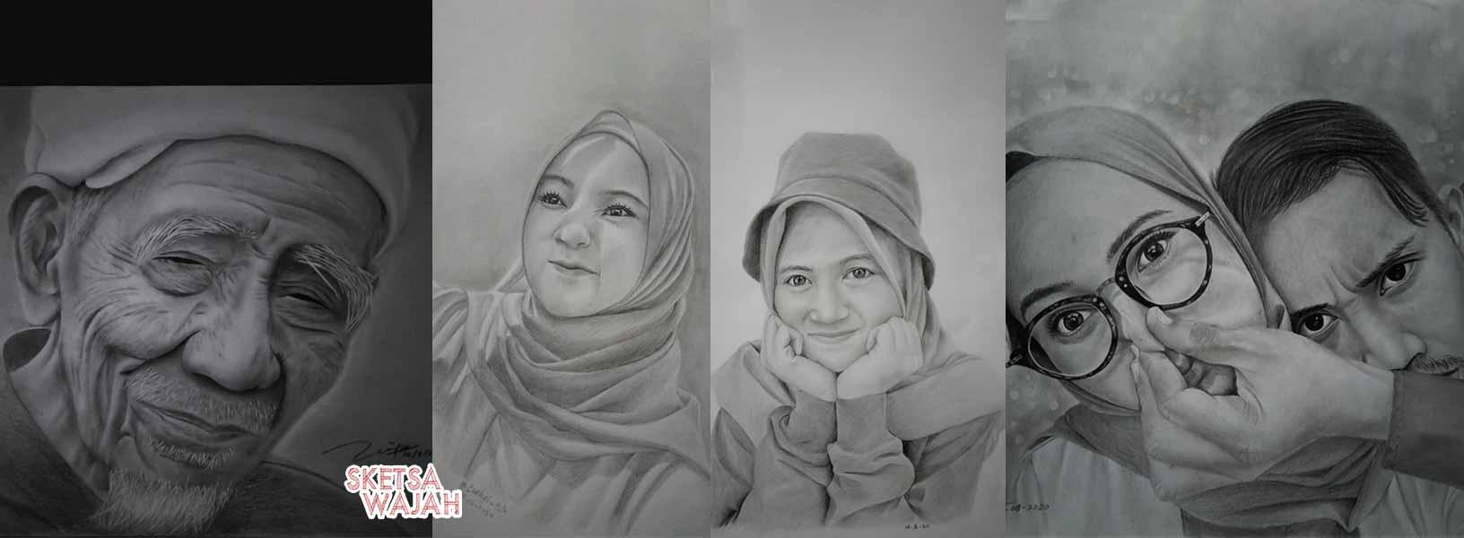 Karya Luthfi Sketch sketcher Sketsa Wajah