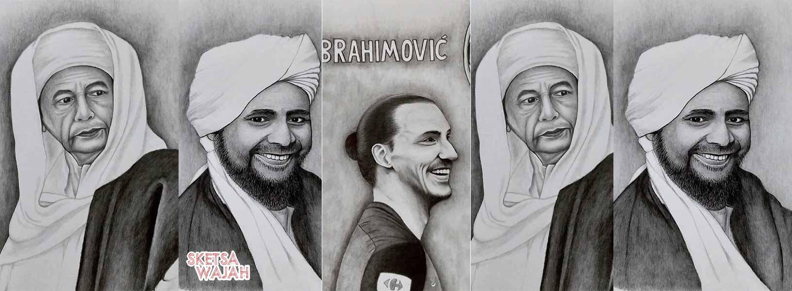 Karya Achmad Sketch sketcher Sketsa Wajah