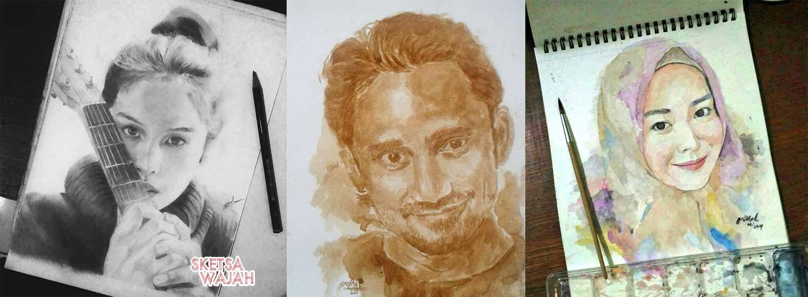 Karya Afdhal Dinilhaq sketcher Sketsa Wajah