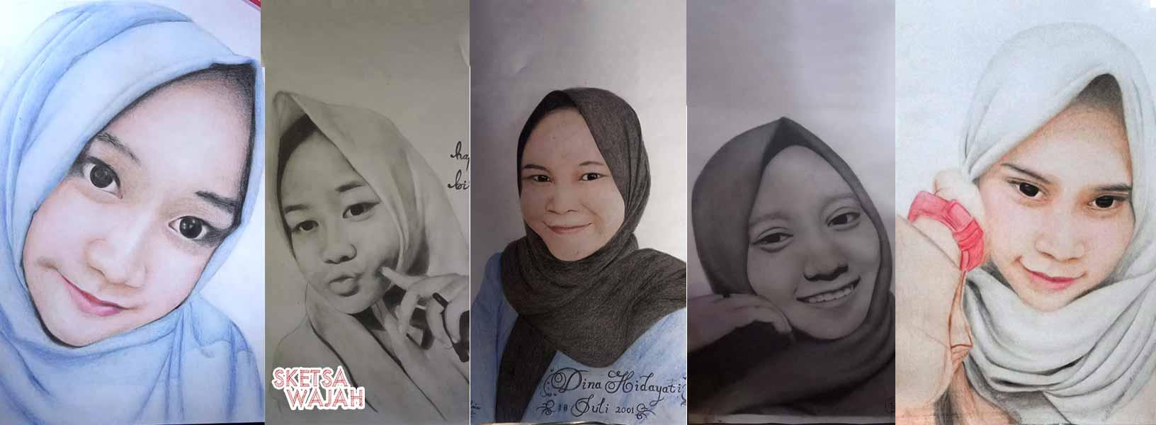 Karya Asy Art 6 sketcher Sketsa Wajah