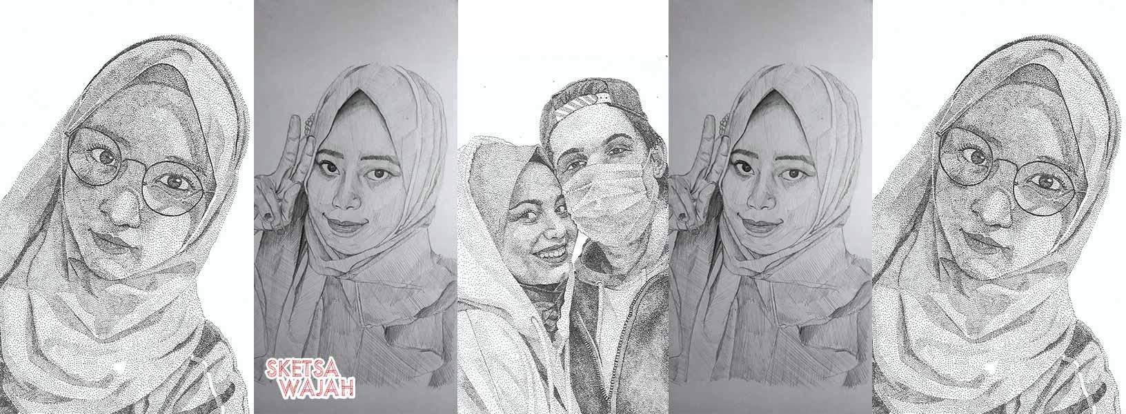 Karya Awiesome sketcher Sketsa Wajah