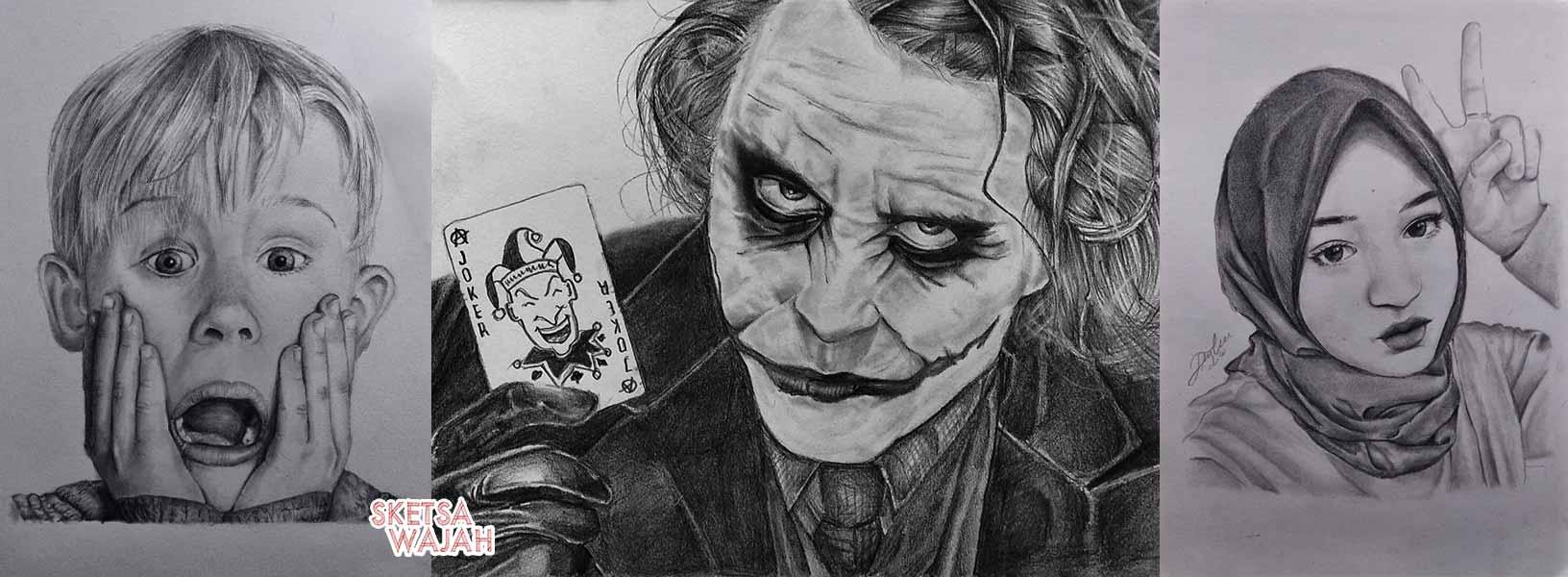 Karya DW Art sketcher Sketsa Wajah