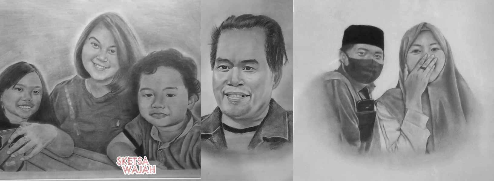 Karya Dinay Hafid sketcher Sketsa Wajah