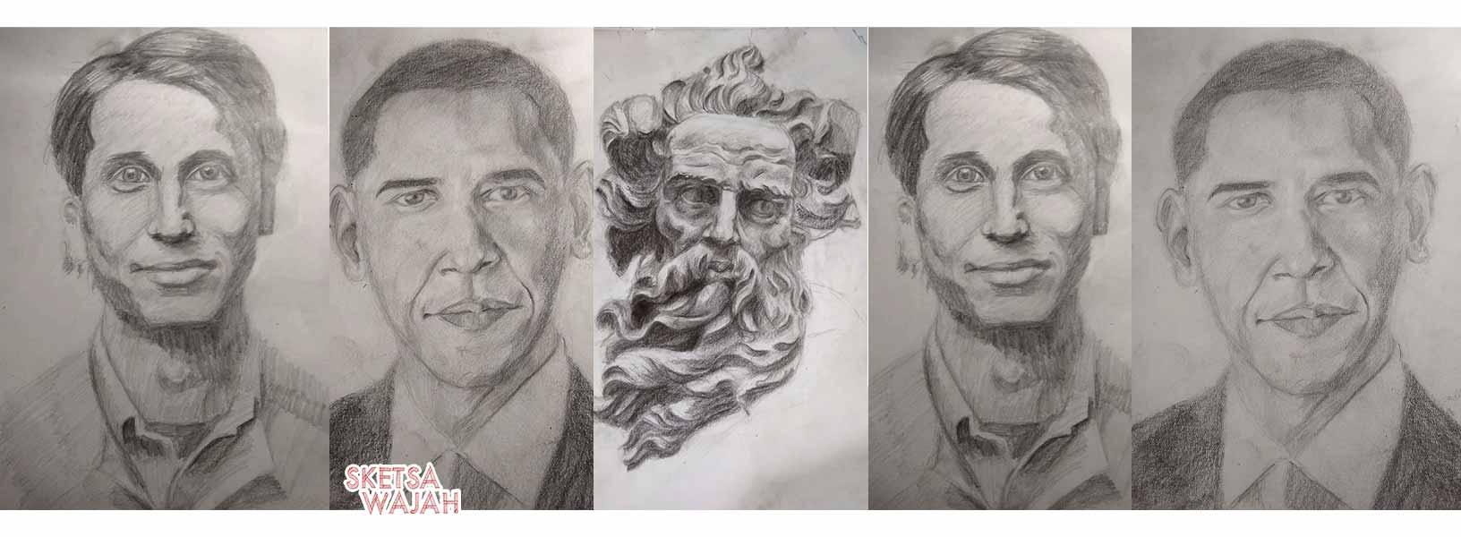 Karya Stan Prokopenko sketcher Sketsa Wajah