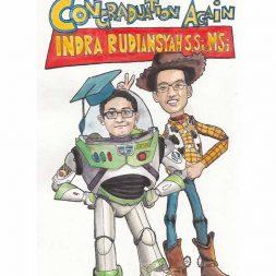 Karikatur Berwarna Natia Warda 3