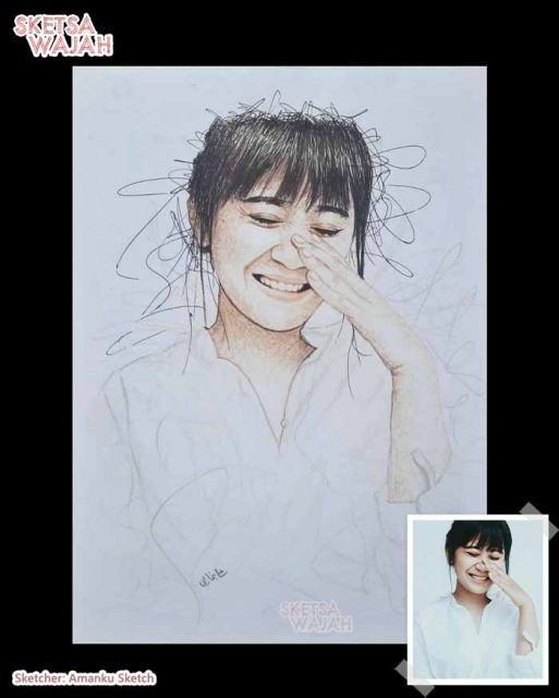 Scribble Art Amanku Sketch 2