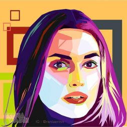 Digital Art WPAP Rania Erin 1