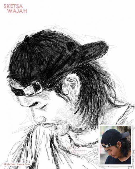 Scribble Art Rania Erin 1