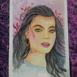 Sketsa Berwarna Simple Background Rania Erin 1