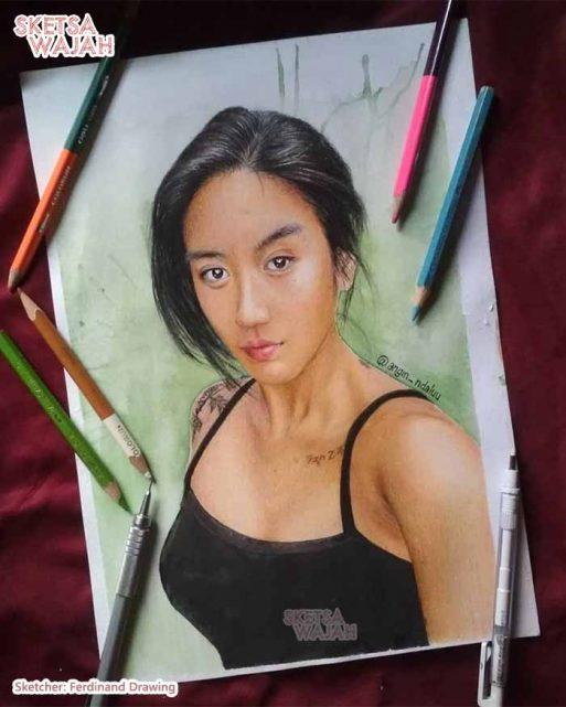 Sketsa Berwarna Ferdinand Drawing 1