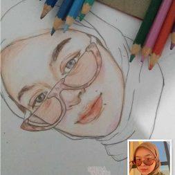 Sketsa Berwarna Smol Sketch 1