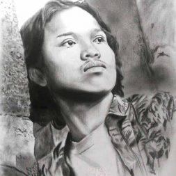 Sketsa Hitam Putih Rafael Seno Art 1