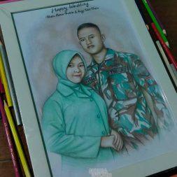 Sketsa Wajah Berwarna Gengaleri Project 2